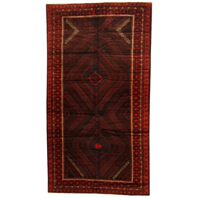 Balouchi Hand-knotted Rust/Red Area Rug