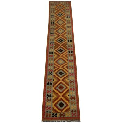 Kilim Hand-Woven Light Blue Area Rug