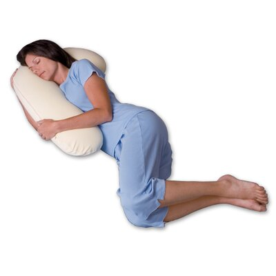 Snuggle Buddy 500 Thread Count Ergonomic Memory Foam Pillow