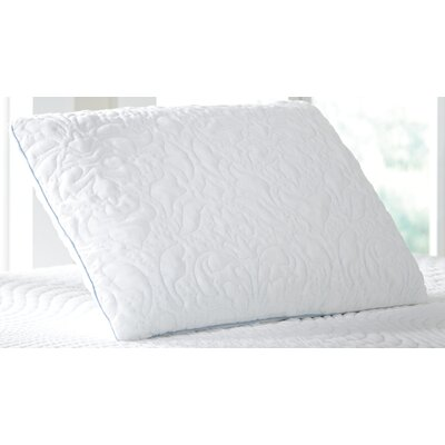 Ventilated Memory Foam Pillow Size: Queen