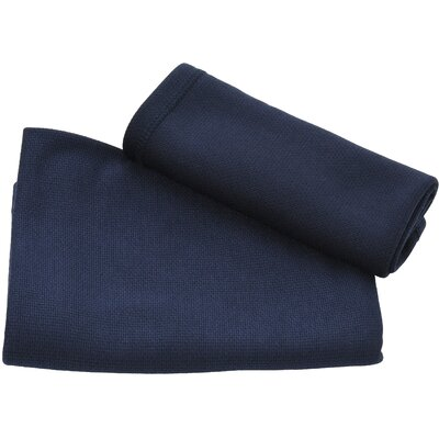 Ultra Fast Dry Beach Towel Color: Navy Blue