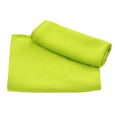 Ultra Fast Dry Beach Towel Color: Lime