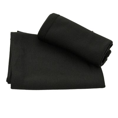 Ultra Fast Dry Beach Towel Color: Black
