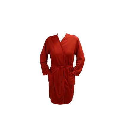 Travel Robe/Pool Wrap Color: Red, Size: Small