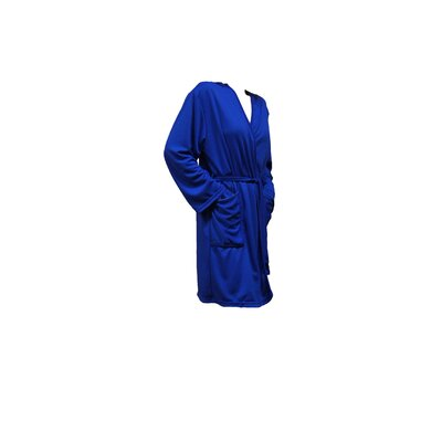 Travel Robe/Pool Wrap Color: Royal Blue, Size: Small