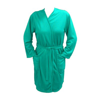 Travel Robe/Pool Wrap Color: Aqua, Size: Small