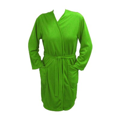 Travel Robe/Pool Wrap Color: Lime, Size: Small
