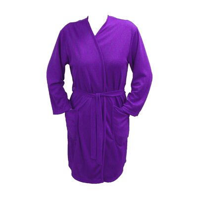 Travel Robe/Pool Wrap Color: Purple, Size: Large