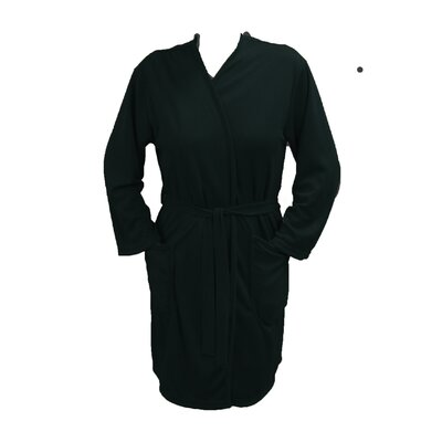 Travel Robe/Pool Wrap Color: Black, Size: Extra Small