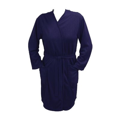 Travel Robe/Pool Wrap Color: Navy, Size: Medium