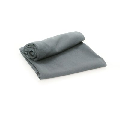 Extreme Ultralight Bath Towel Color: Charcoal