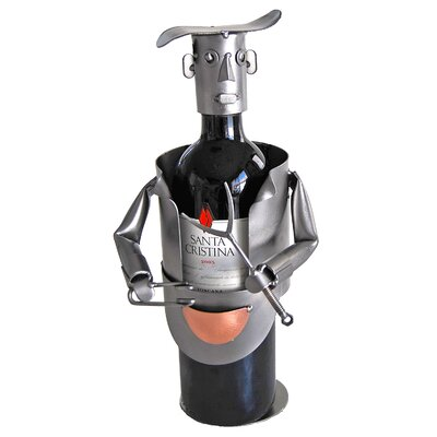 Barbeque 1 Bottle Tabletop Wine Rack