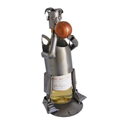 Basketball 1 Bottle Tabletop Wine Rack