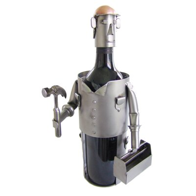 Carpenter 1 Bottle Tabletop Wine Rack