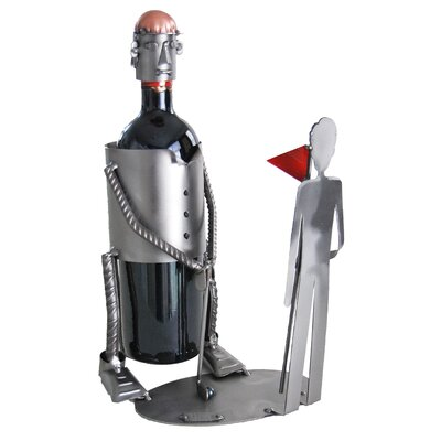 Golf Putting Caddy 1 Bottle Tabletop Wine Rack