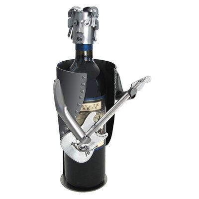 Guitar Electric 1 Bottle Tabletop Wine Rack 6753LI