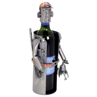 Hunter 1 Bottle Tabletop Wine Rack