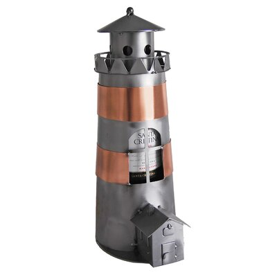 Lighthouse 1 Bottle Tabletop Wine Rack