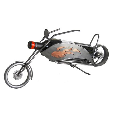 Motorcycle-Chopper 1 Bottle Tabletop Wine Rack