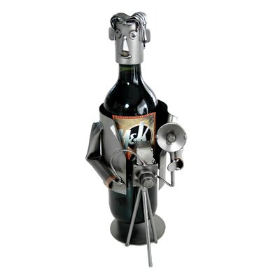 Photographer Caddy 1 Bottle Tabletop Wine Rack
