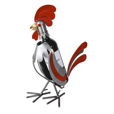 Rooster 1 Bottle Tabletop Wine Rack