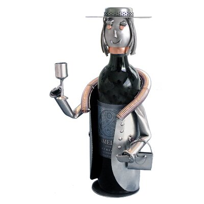 Sophisticated Lady 1 Bottle Tabletop Wine Rack