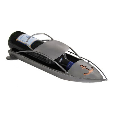 Speedboat 1 Bottle Tabletop Wine Rack