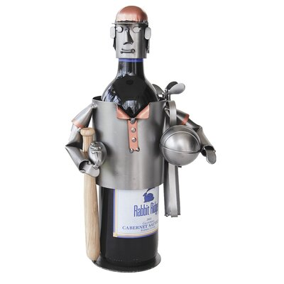Sports Fanatic 1 Bottle Tabletop Wine Rack