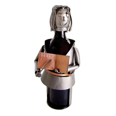 Teacher Female 1 Bottle Tabletop Wine Rack