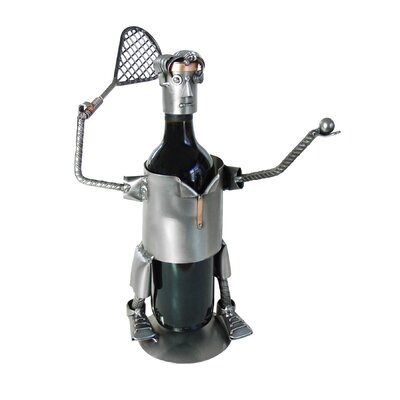 Tennis-Serve Caddy 1 Bottle Tabletop Wine Rack