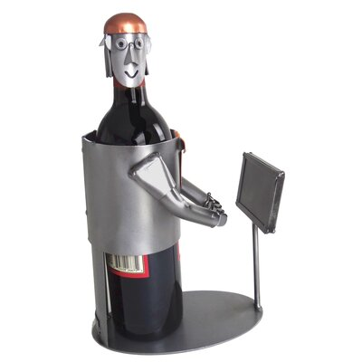 Video Gamer 1 Bottle Tabletop Wine Rack