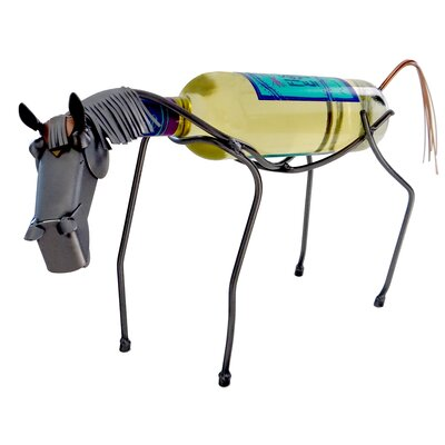 Horse 1 Bottle Tabletop Wine Rack