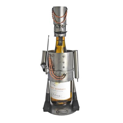 Nutcracker 1 Bottle Tabletop Wine Rack