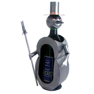 Snowman 1 Bottle Tabletop Wine Rack