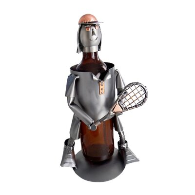 Tennis Female 1 Bottle Tabletop Wine Rack