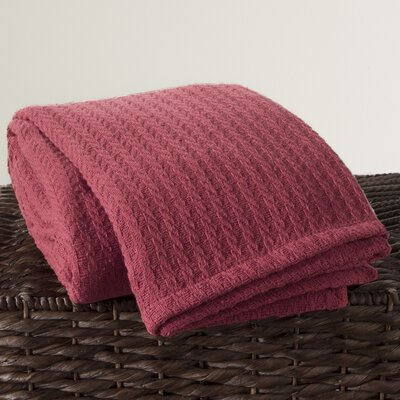 Cotton Throw Color: Dusty Rose