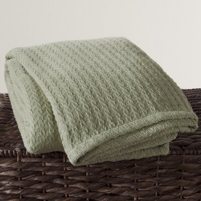 Cotton Throw Color: Sage