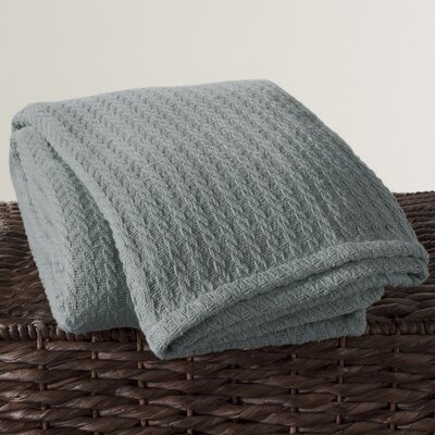 Cotton Throw Color: Slate Blue