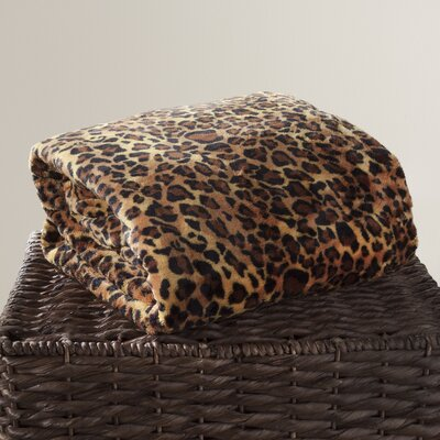 Animal Print Throw