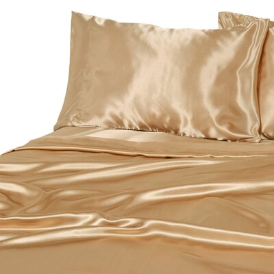 Luxurious Sheet Set Size: Twin, Color: Gold