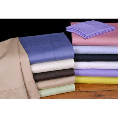 Orleans Reversible Duvet Set Color: Light Blue, Size: Full/Queen