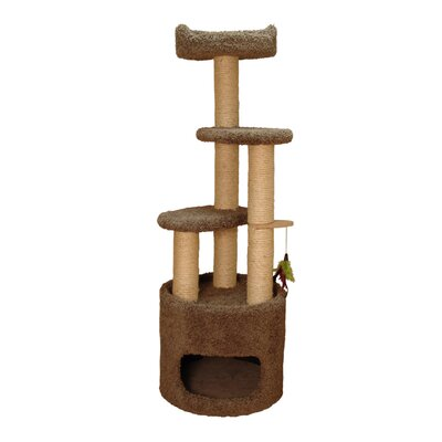 53 Cat Tree Color: Natural Beige