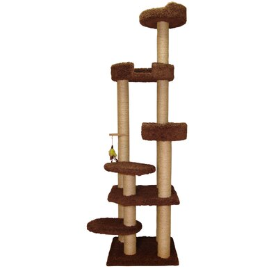 79 Tower Cat Perch Color: Coco Brown
