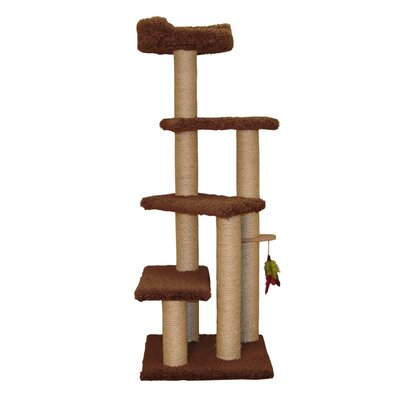 55 Step up Cat Perch Color: Coco Brown