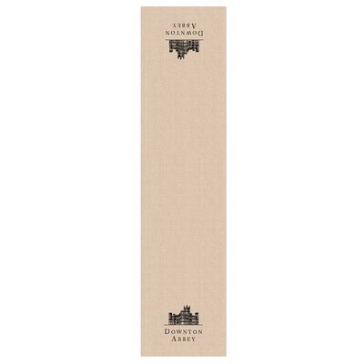 """Downton Abbey Castle Table Runner Size: 60"""" W x 16"""" L CNW1660NA-0878"""
