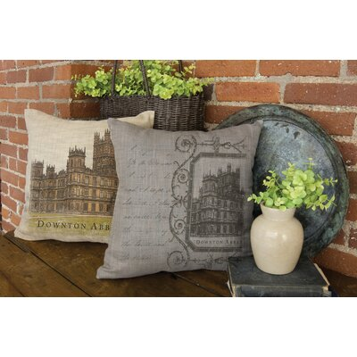 Anthonette Script Pillow Cover