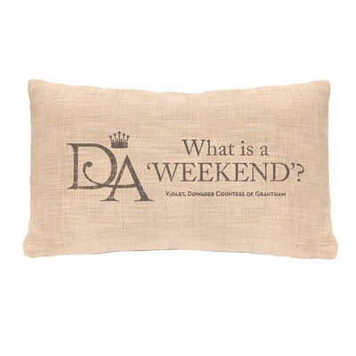 Fiddlehead Weekend Lumbar Pillow