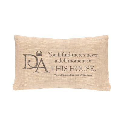 Fiddlehead This House Lumbar Pillow