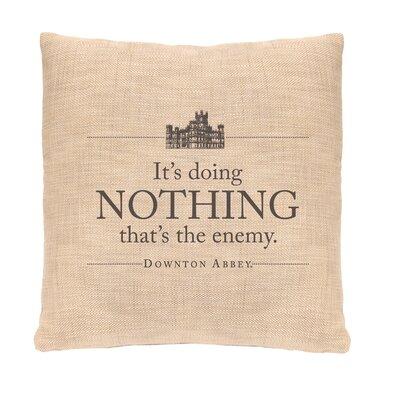 Downton Abbey Nothing Throw Pillow