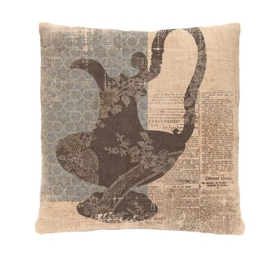 Silhouettes Pitcher Pillow Cover